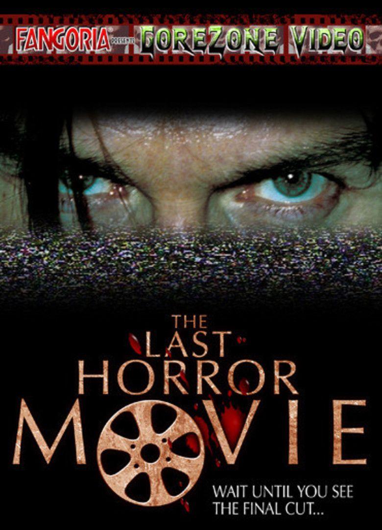 The Last Horror Movie movie poster