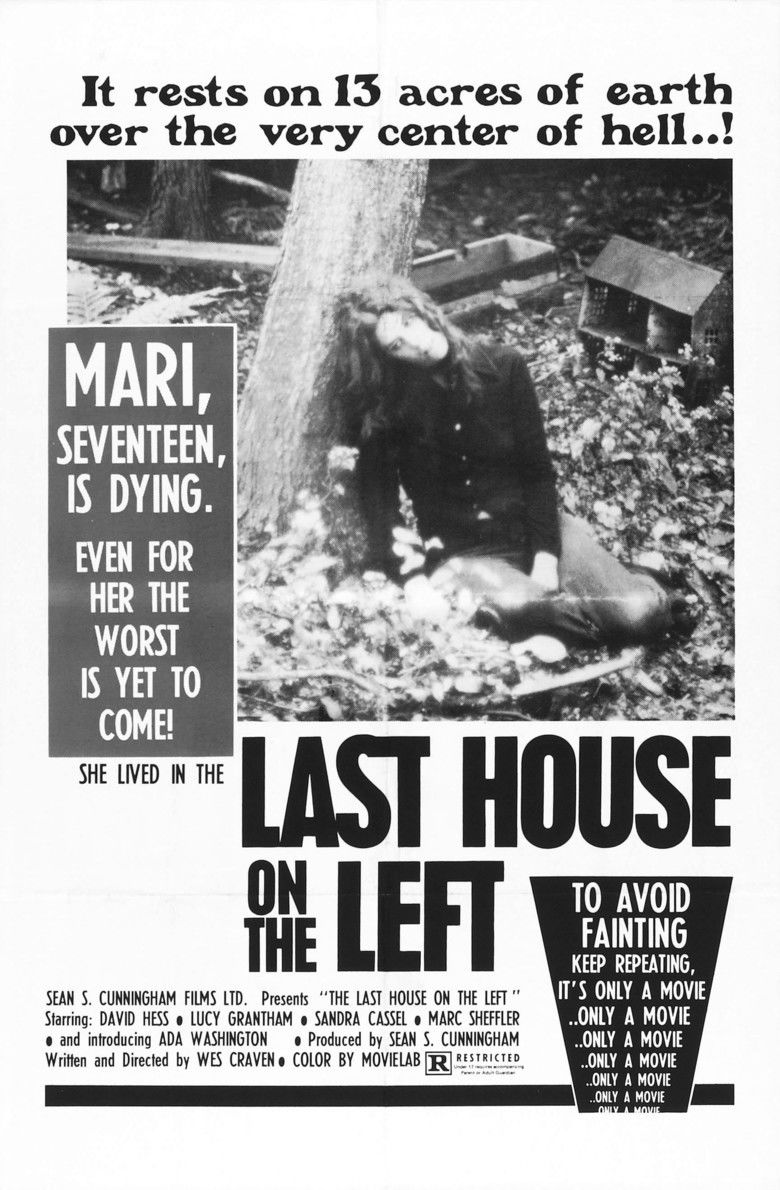 The Last House on the Left (1972 film) movie poster
