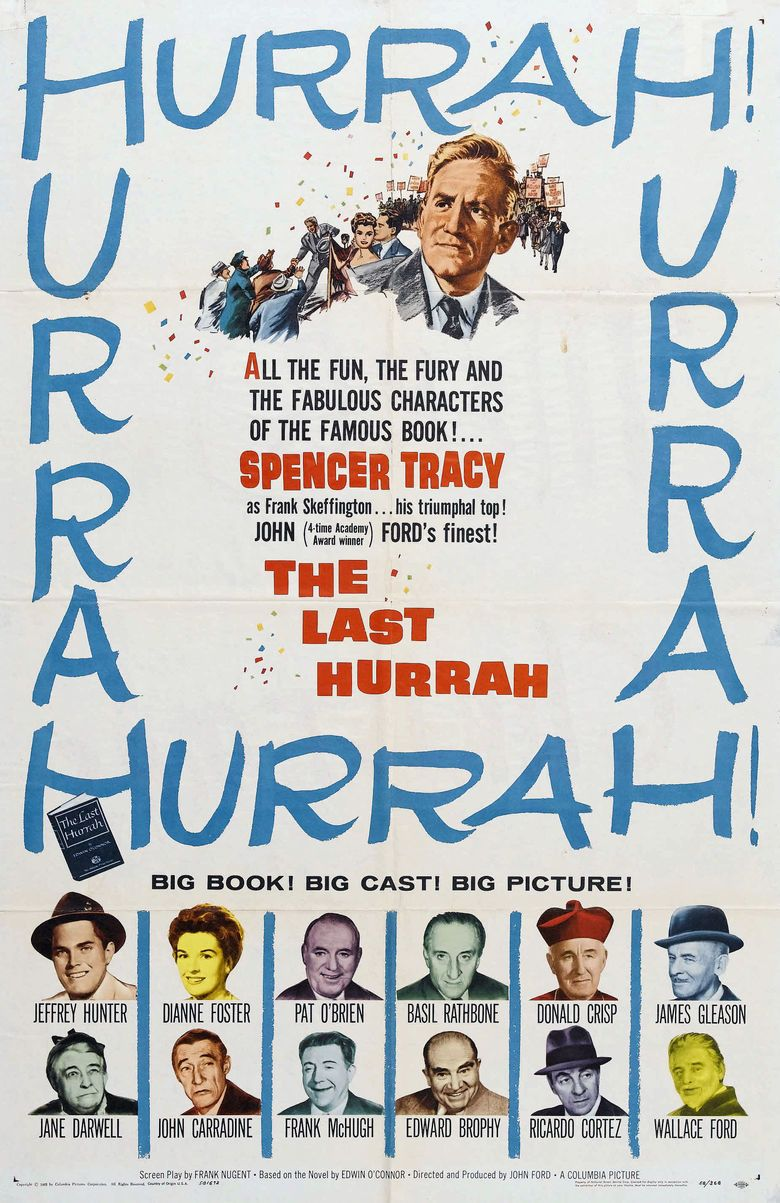 The Last Hurrah (1958 film) movie poster