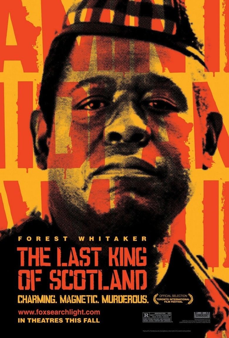 The Last King of Scotland (film) movie poster