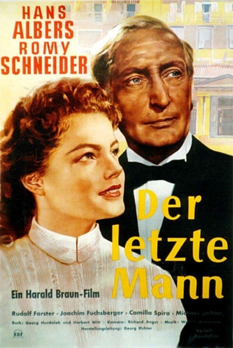 The Last Man (1955 film) movie poster