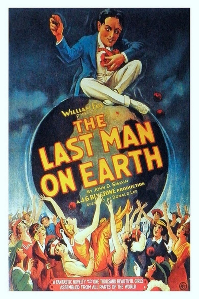 The Last Man on Earth (1924 film) movie poster