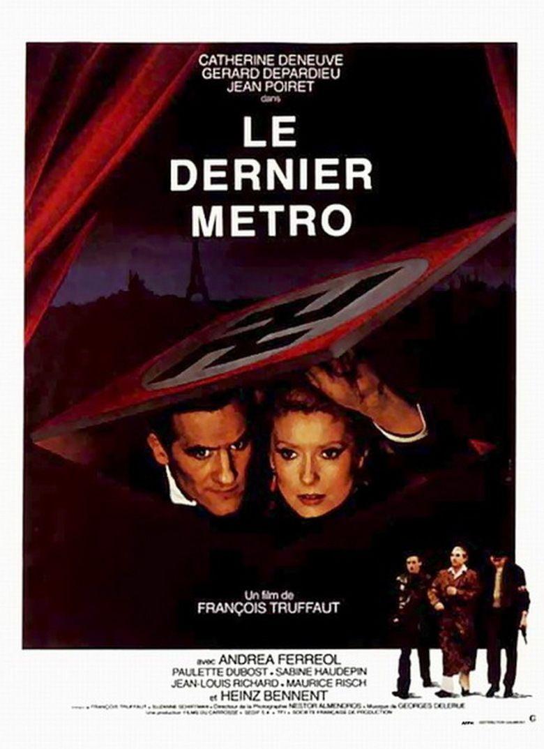 The Last Metro movie poster