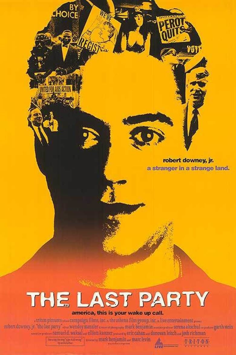 The Last Party (film) movie poster
