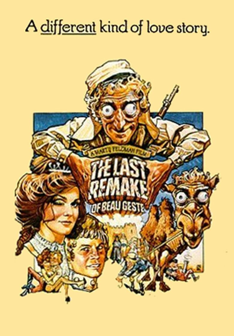 The Last Remake of Beau Geste movie poster