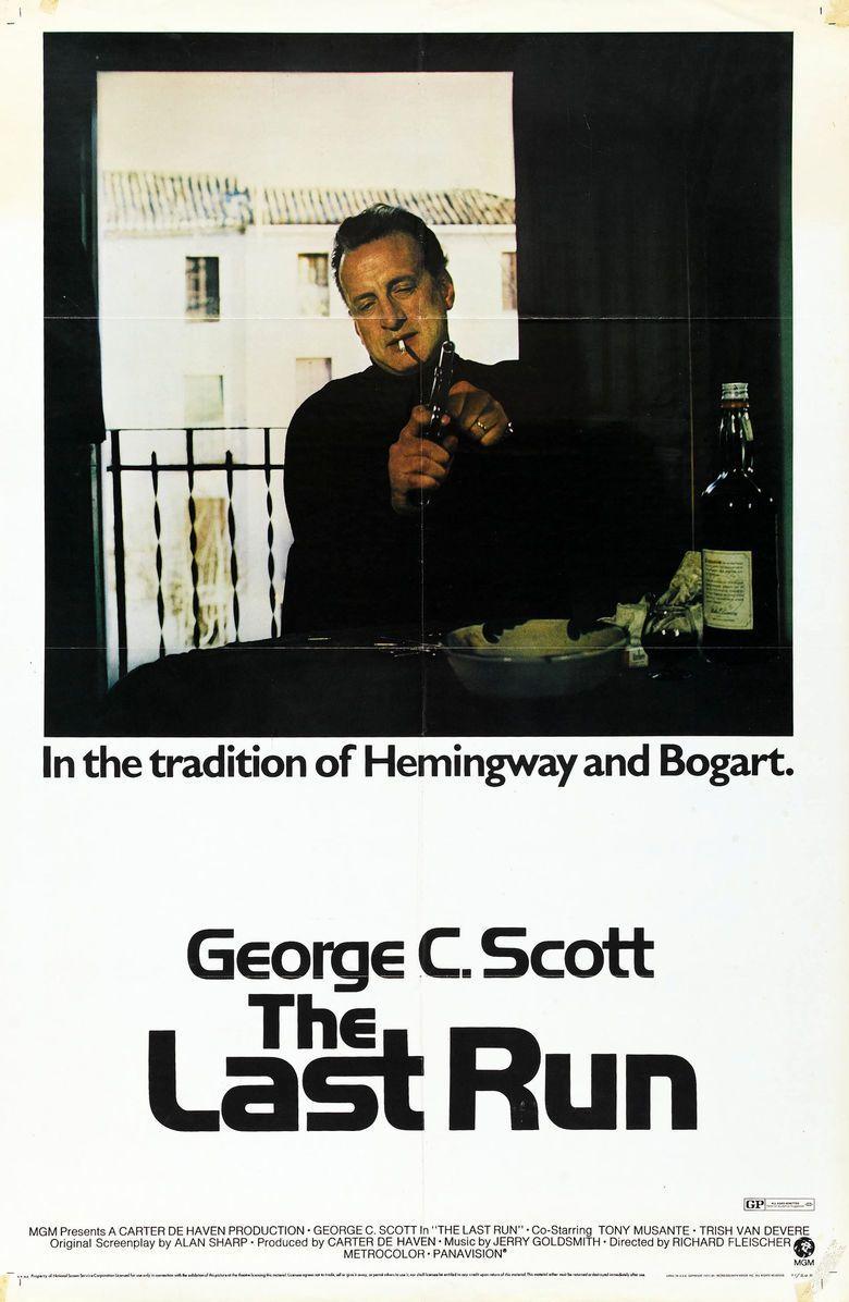 The Last Run movie poster