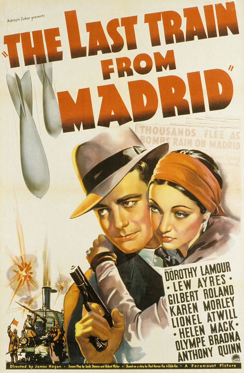 The Last Train from Madrid movie poster