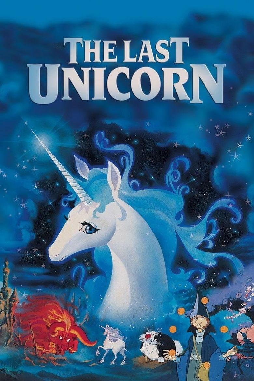 The Last Unicorn (film) movie poster