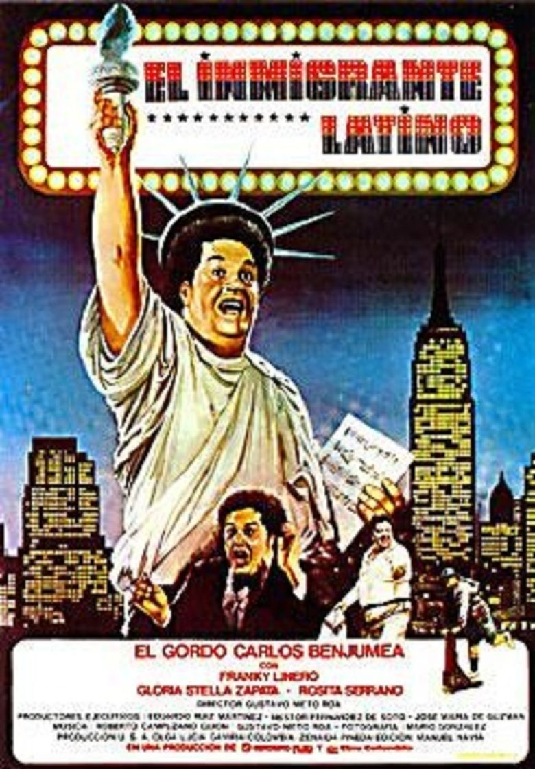 The Latin Immigrant movie poster