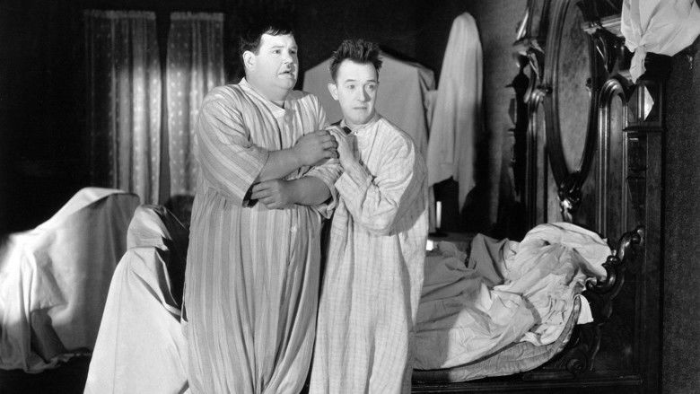 The Laurel Hardy Murder Case movie scenes