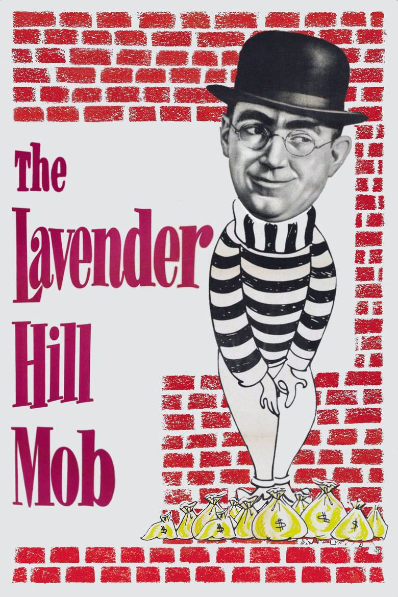The Lavender Hill Mob movie poster