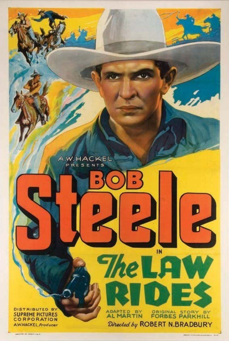 The Law Rides movie poster