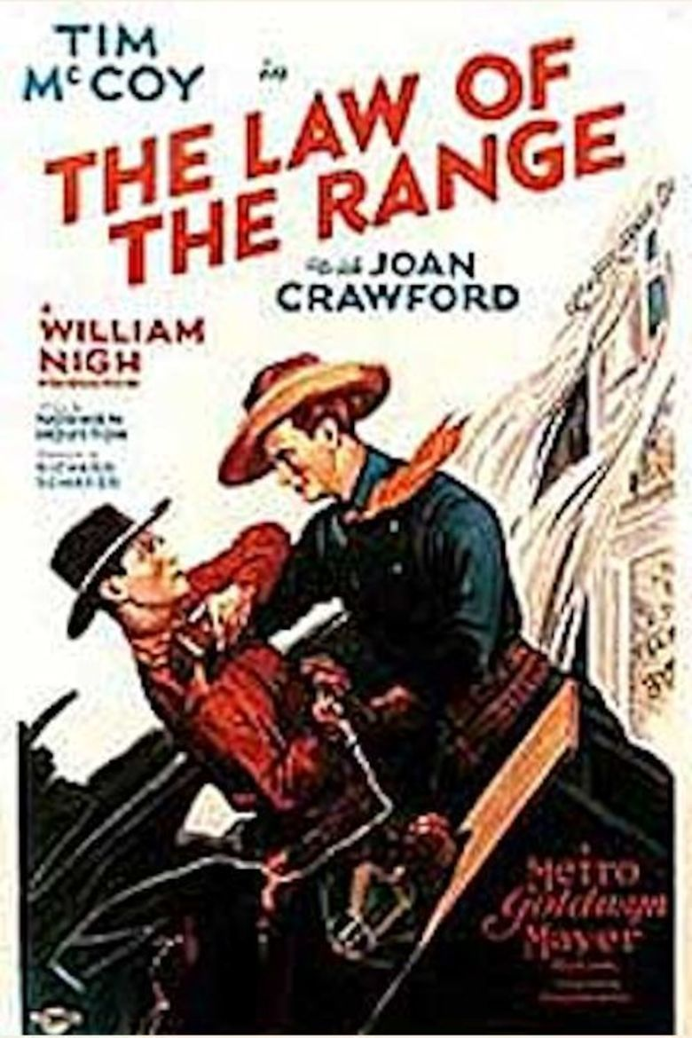 The Law of the Range movie poster