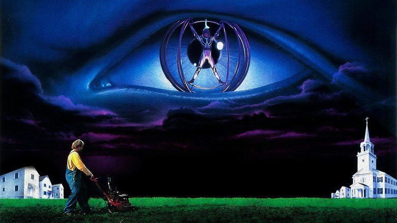 The Lawnmower Man (film) movie scenes