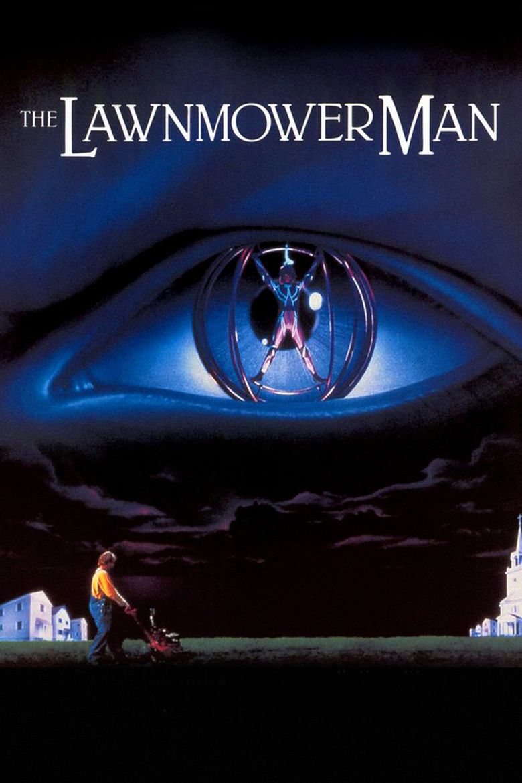 The Lawnmower Man (film) movie poster