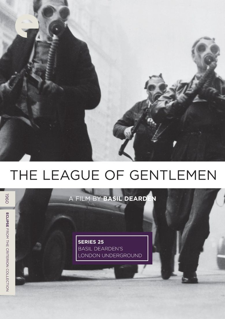 The League of Gentlemen (film) movie poster