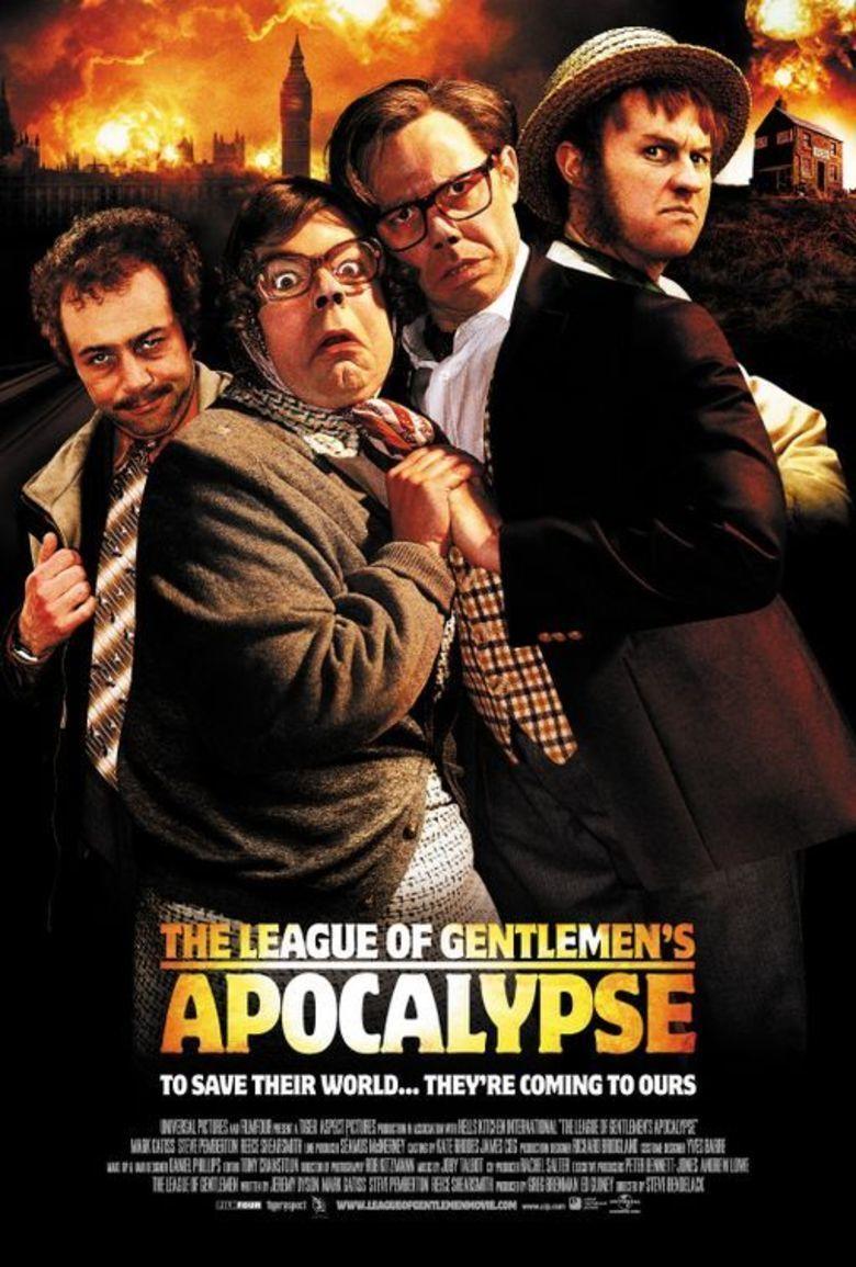 The League of Gentlemens Apocalypse movie poster