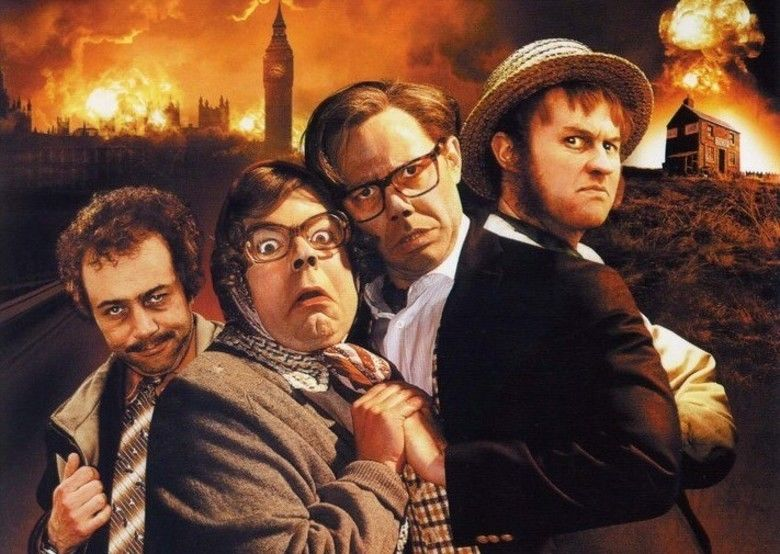 The League of Gentlemens Apocalypse movie scenes