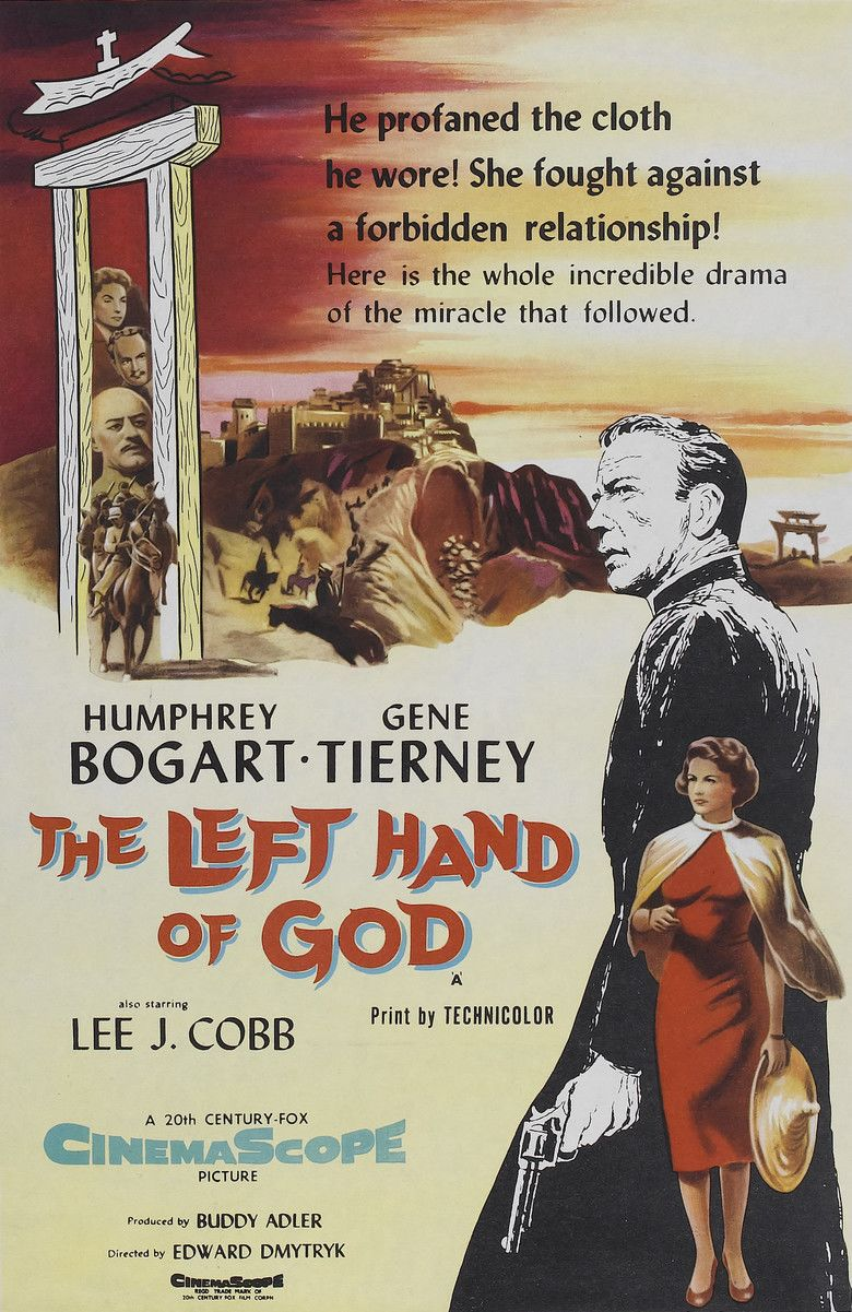 The Left Hand of God movie poster