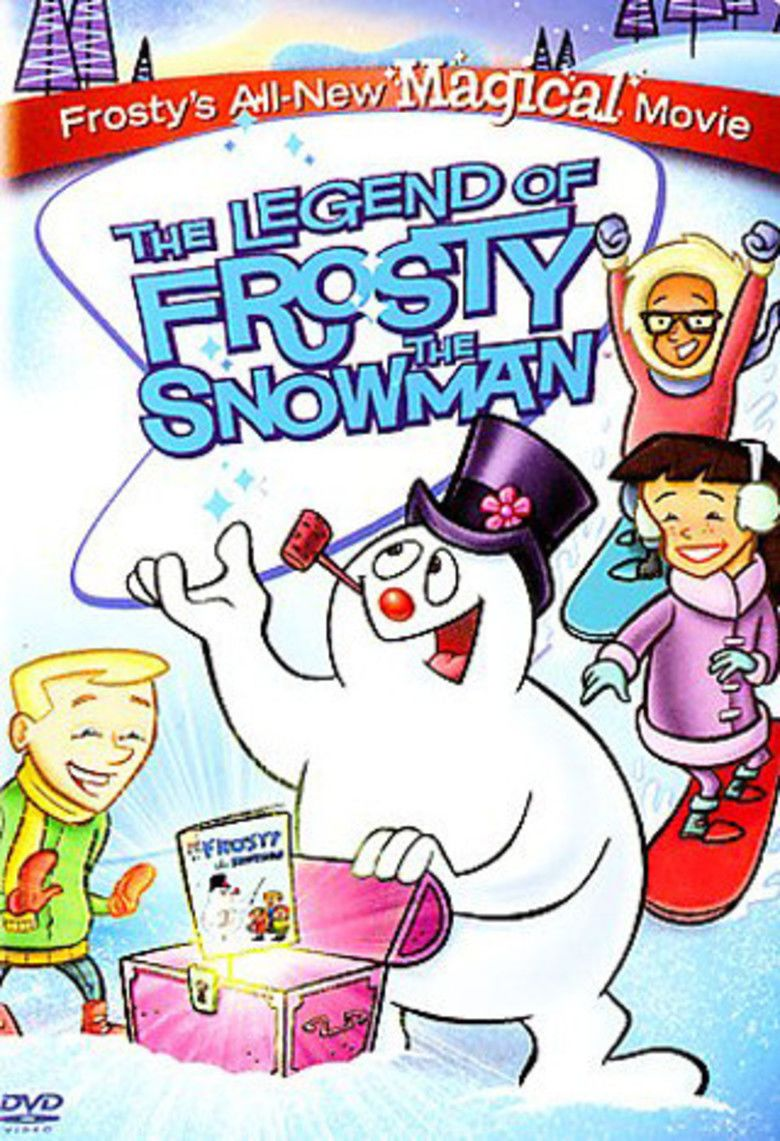 The Legend of Frosty the Snowman movie poster