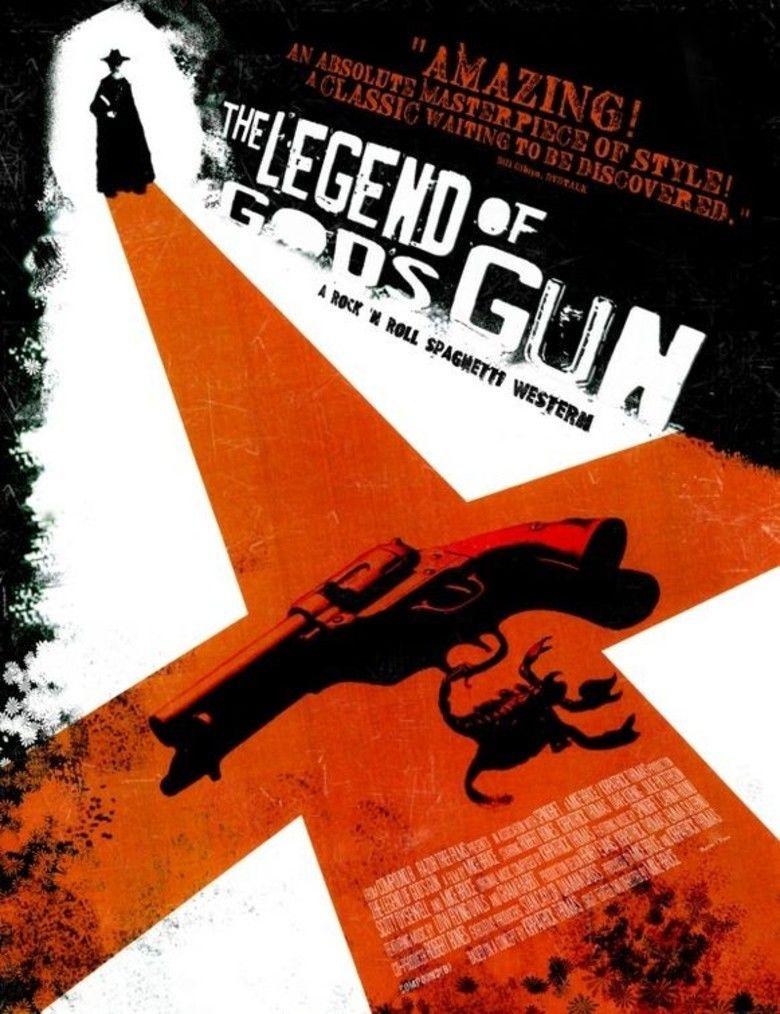 The Legend of Gods Gun movie poster