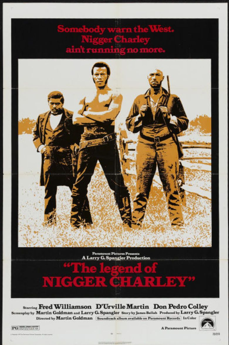 The Legend of Nigger Charley movie poster