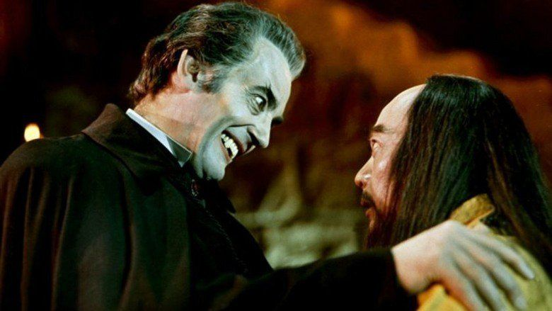 The Legend of the 7 Golden Vampires movie scenes