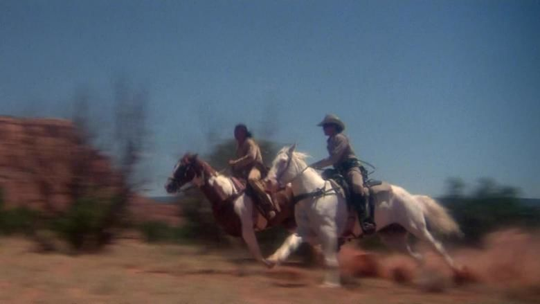 The Legend of the Lone Ranger movie scenes
