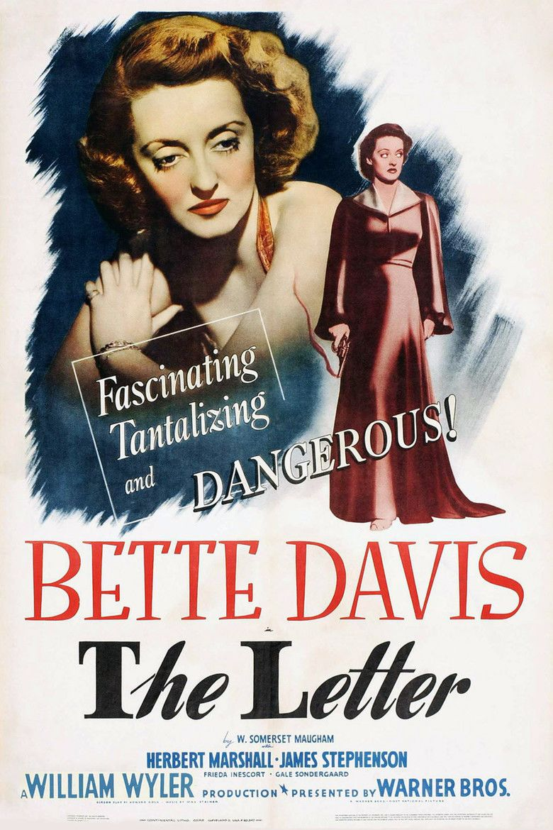 The Letter (1940 film) movie poster