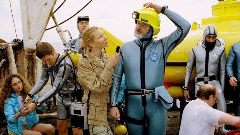 The Life Aquatic with Steve Zissou movie scenes