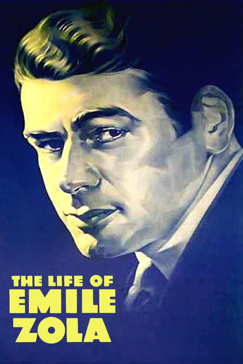 The Life of Emile Zola movie poster