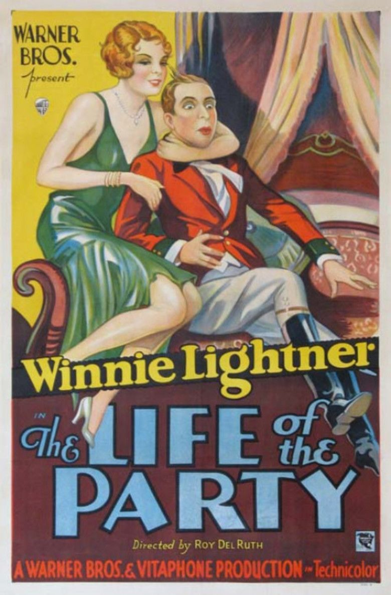 The Life of the Party (1930 film) movie poster