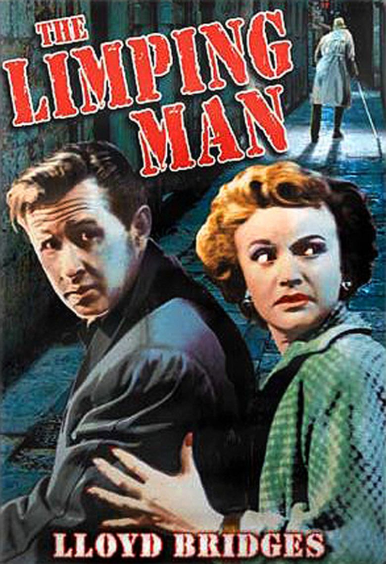 The Limping Man (1953 film) movie poster