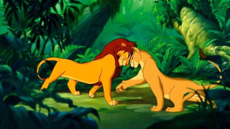 The Lion King 1½ movie scenes