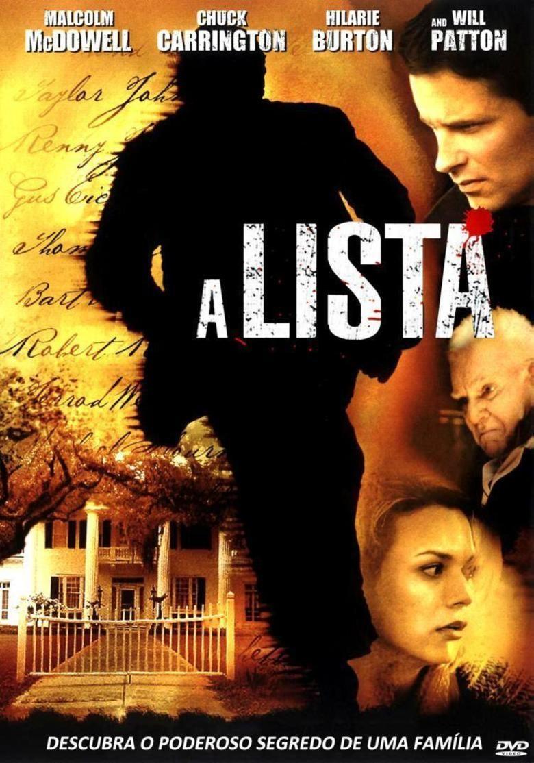 The List (2007 film) movie poster