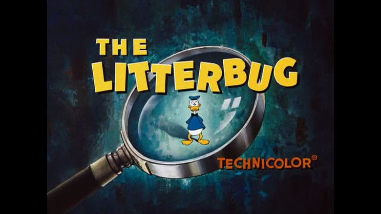 The Litterbug movie scenes