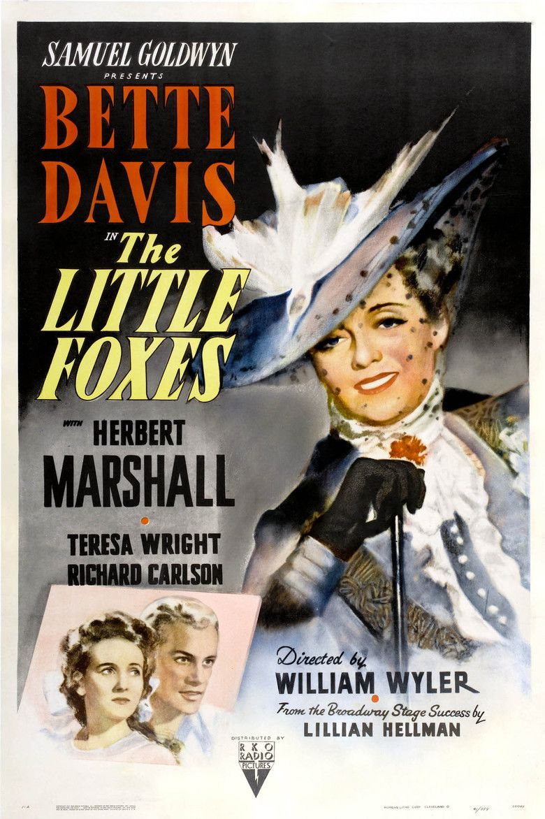 The Little Foxes (film) movie poster
