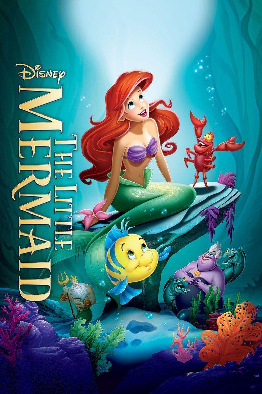 The Little Mermaid (1989 film) movie poster