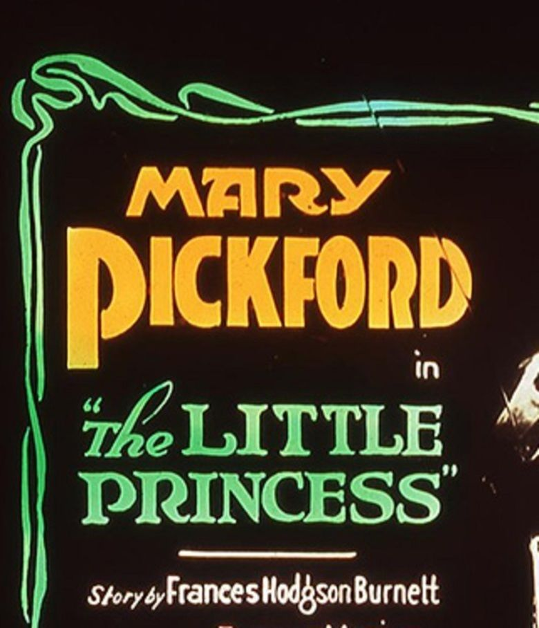 The Little Princess (1917 film) movie poster