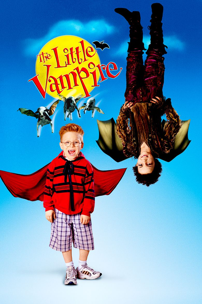 The Little Vampire (film) movie poster