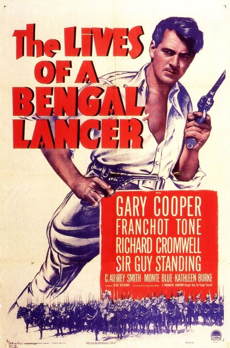 The Lives of a Bengal Lancer (film) movie poster
