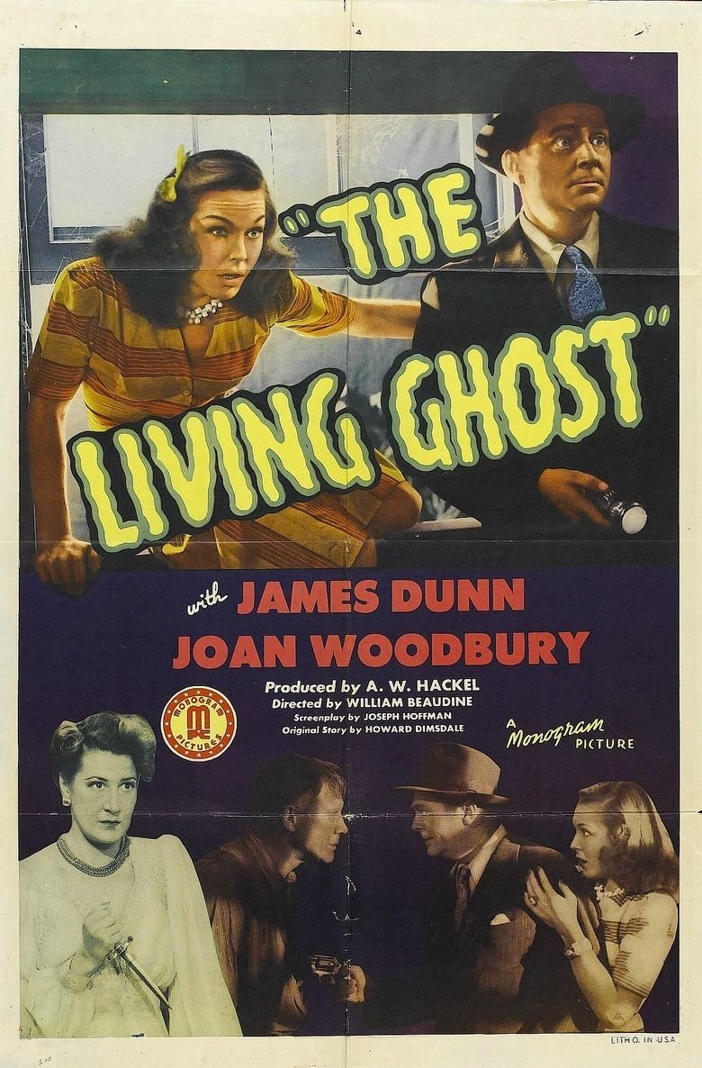 The Living Ghost movie poster