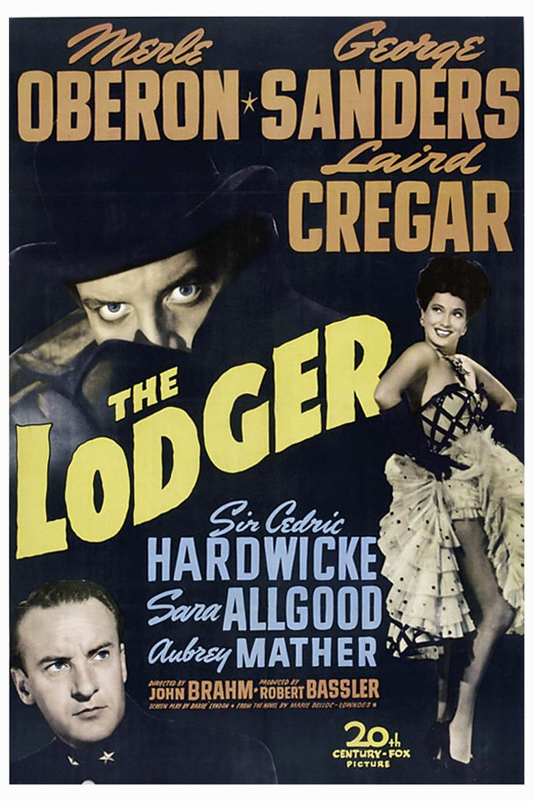The Lodger (1944 film) movie poster