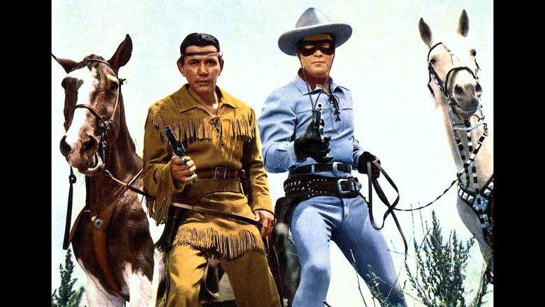 The Lone Ranger (1956 film) movie scenes