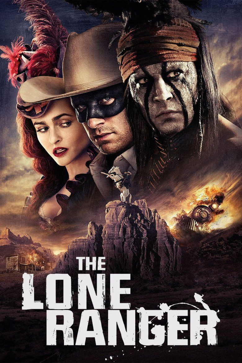The Lone Ranger (2013 film) movie poster