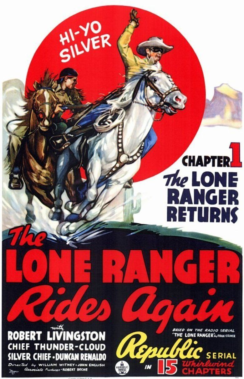 The Lone Ranger Rides Again movie poster