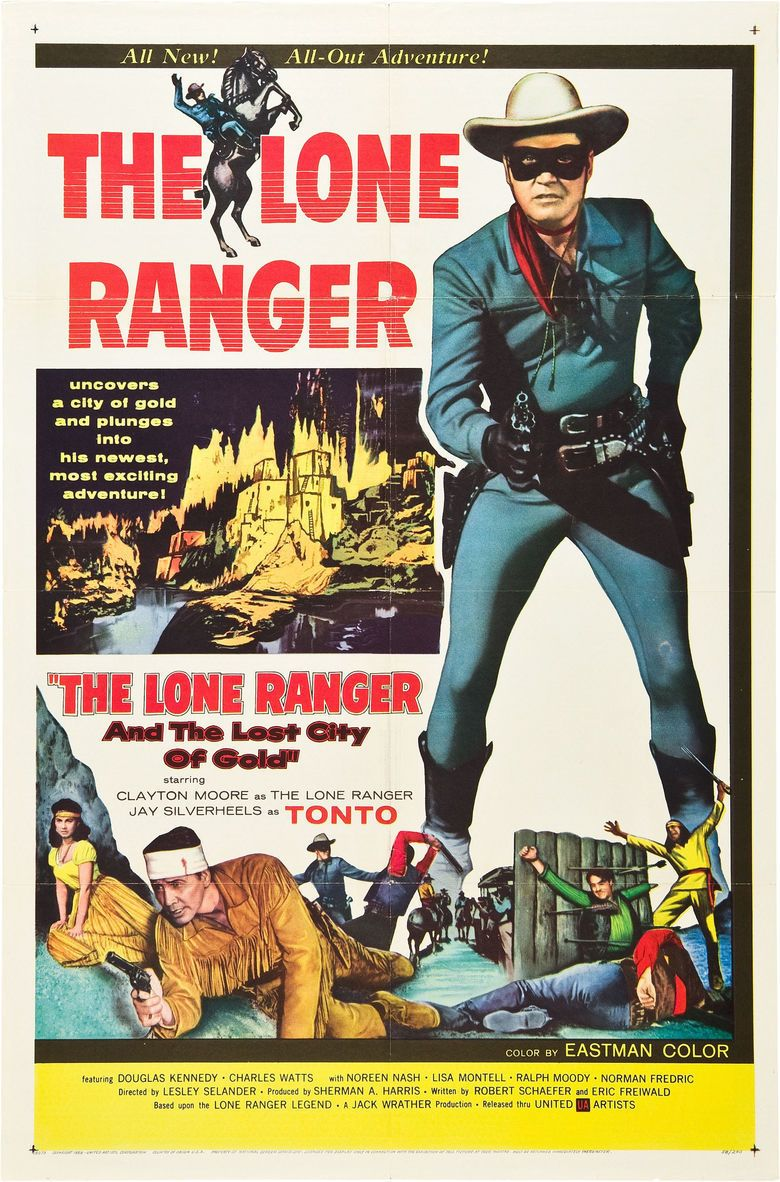 The Lone Ranger and the Lost City of Gold movie poster