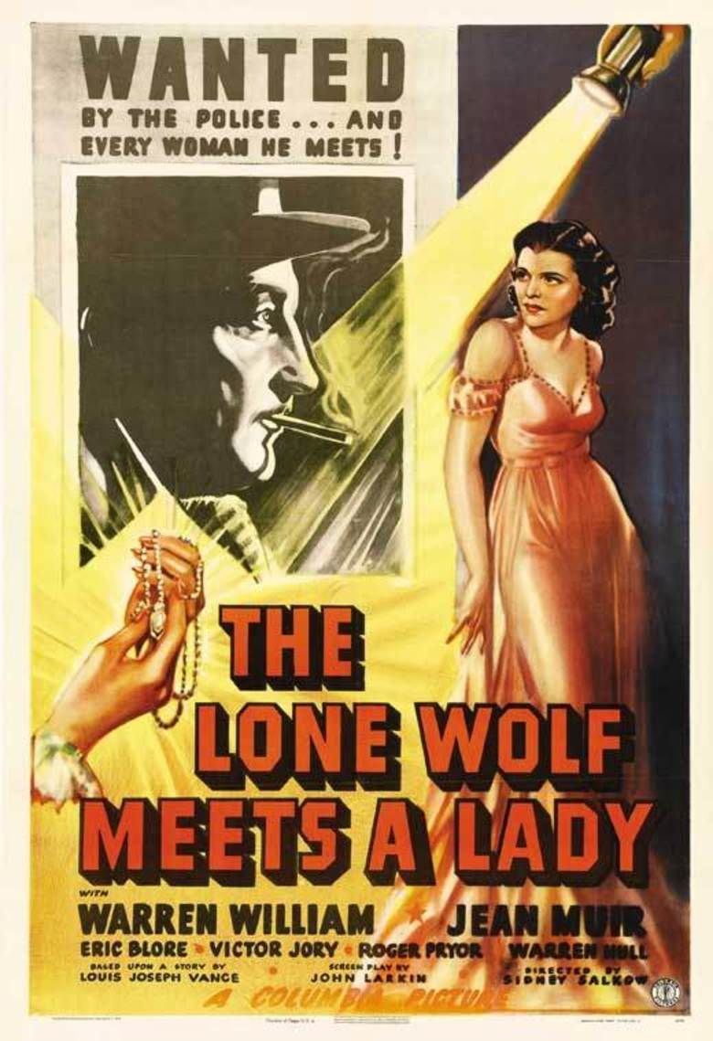 The Lone Wolf Meets a Lady movie poster