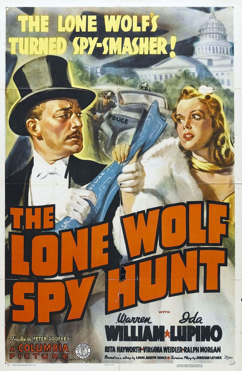 The Lone Wolf Spy Hunt movie poster