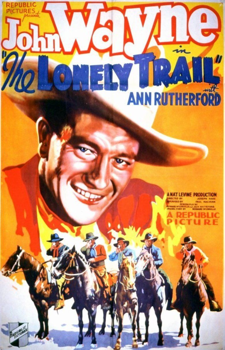 The Lonely Trail movie poster